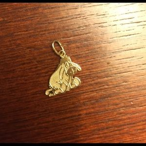 Disney Eeyore 14 k yellow gold pendant